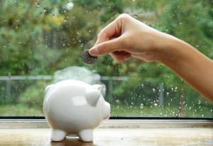 Clever Geld sparen im Alltag, damit Vermögen bilden und eine Altersvorsorge aufbauen
